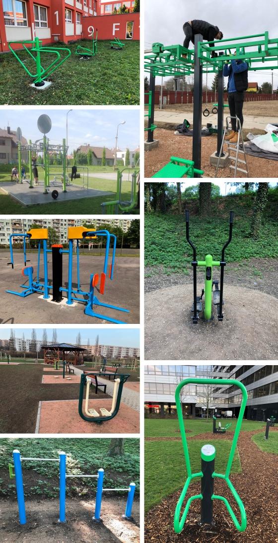 AFE TRADE, s.r.o. - street workout, outdoor fitness, venkovní posilovny, multifunkční hřišťe